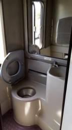 Banheiro onibus rodoviário