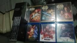 Coleção Star Wars Bluray, Dvd