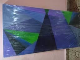 Oportunidade!! Quadro abstrato roxo/lilás!!! comprar usado  São Bernardo do Campo