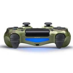 Controle Sem Fio - Dualshock 4 Camuflado ( Green Camo ) - PS4