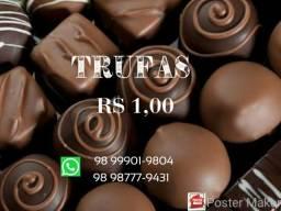 Deliciosas Trufas R$ 1,00