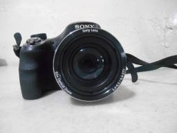 Câmera Sony DSC H400 - 63X Zoom - 20 Megapixels