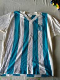 Camisa retrô Racing Argentina