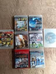 Jogos PS3 (100 reais)