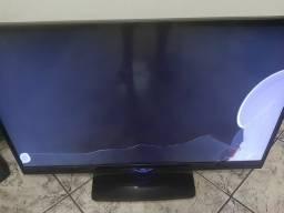 TV aoc com display quebrado