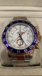 Relógio Rolex Oyster Perpetual Yacht Master II Automático a prova d'água Completo