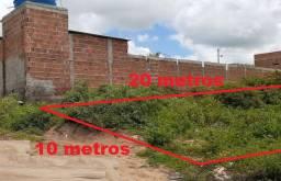 Terreno na Cohab 3 Garanhuns - Na entrada do residencial - 10x20
