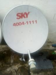 Antena parabolica.