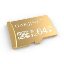 Cartão de Memória 64 GB Micro Sd Classe 10 c/ adaptador SD