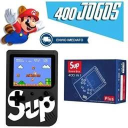 Mini game retrô portatil 400 jogos
