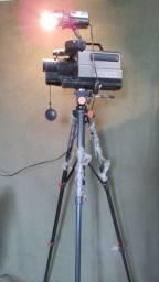 Luminaria de Canto com Tripé Filmadora VHS