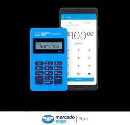 Máquina de cartão - Point Mini Mercado Pago para crédito e débito