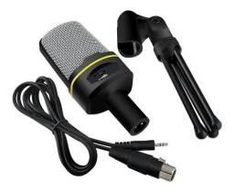 Microfone Condensador Gravação Sf 666 Promoção<br>