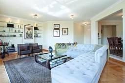 Apartamento com 4 dormitórios para alugar, 247 m² por R$ 18.000,00/mês - Moema Índios - Sã