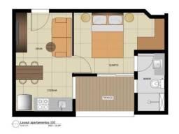 Título do anúncio: Loft à venda com 1 dormitórios em Caiçara, Belo horizonte cod:17133