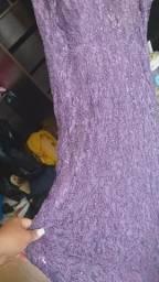 Vestido para festa lilás