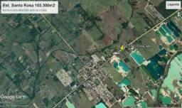 Terreno 103.300m2 Estrada Santa Rosa - Piranema - Seropédica RJ