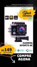 Câmera Filmadora Esportiva Mergulho - Wi-Fi 4K - Ação - Estilo Gopro