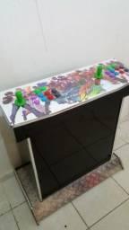 Plataforma Controle Arcade Fliperama Multijogos 2 e 4 Jogadores