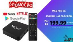 Android tv box -4 gb RAM + 64 gb ROM 5G