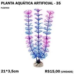 Planta Aquática Artificial 21cm