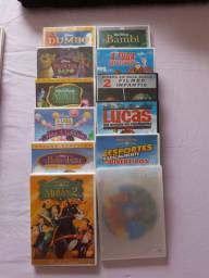 12 filmes em DVD original