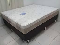 :: Promoçao Cama Box + Colchao Ortobom Elegante Queen Size 158x198 confira