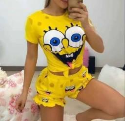 Pijamas Adulto e Infantil - Leia a descrição por gentileza
