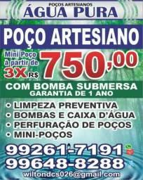 POÇO ARTESIANO E MINI POÇO ARTESIANO R$$2250.00