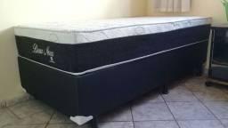 ::Conjunto Cama Box colchao Montreal Bosa Nova Solteiro (88x188) A Pronta Entrega;;