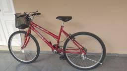 Bicleta feminina de cestinha