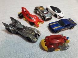 Kit 6 Hot Wheels Mattel - Carros Carrinhos Hotwheels