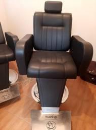 Cadeiras de barbeiro profisional