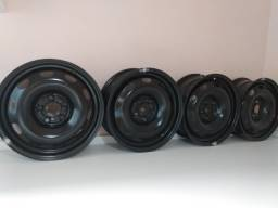 "Rodas VW FOX/SpaceFox aro 15"" (5 furos)"