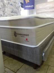 = Conjunto chimango solteiro 088x188 30 de altura mega promoção