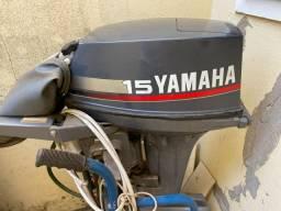 Motor 15 Yamaha zerado