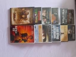 12 filmes em DVD