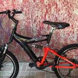 Bike track aro 20 um ano de uso
