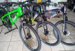 Bicicleta VikingX (Nova) Várias cores,Câmbio shimano