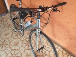 Bike speed híbrida de fibra de carbono