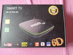 Tv box R69 8k ultra hd slin