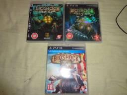 Vendo trilogia Bioshock PS3
