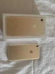 iPhone 7 dourado 32g único dono.