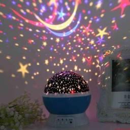 Abajur Luminária Céu Estrelado, pague na entrega