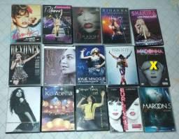 Dvds shows pop diversos