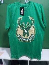 Camisa dos Bucks NBA Masculina