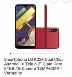 LG K22 3 MÊS DE USO 800R$ JA TA COM CAPINHA E PELÍCULA