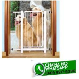 Grade Proteção para Porta 70 a 80cm * Crianças / Cachorro * Fazemos Entregas