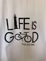 Camiseta life is good