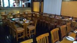 Mesas e cadeiras pra restaurante